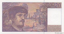 20 Francs DEBUSSY à fil de sécurité FRANCE  1992 F.66bis.03 pr.NEUF