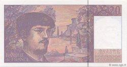 20 Francs DEBUSSY Modifié FRANCE  1995 F.66ter.01 pr.NEUF