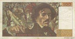 100 Francs DELACROIX FRANCE  1978 F.68.04 TTB