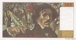 100 Francs DELACROIX modifié FRANCE  1981 F.69.05 pr.NEUF