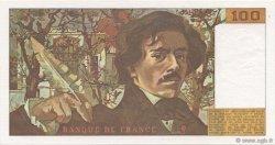 100 Francs DELACROIX modifié FRANCE  1985 F.69.09 NEUF