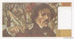 100 Francs DELACROIX modifié FRANCE  1989 F.69.13c pr.NEUF