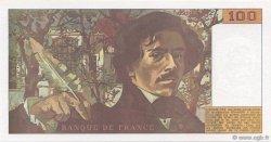 100 Francs DELACROIX imprimé en continu FRANCE  1990 F.69bis.01b2 NEUF