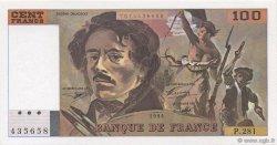 100 Francs DELACROIX 442-1 & 442-2 FRANCE  1994 F.69ter.01c NEUF