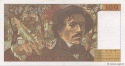 100 Francs DELACROIX 442-1 & 442-2 FRANCE  1995 F.69ter.02c SUP+
