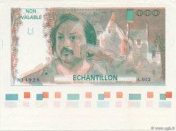 1000 Francs BALZAC FRANCE  1980 F.68E.01d NEUF