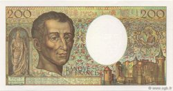 200 Francs MONTESQUIEU FRANCE  1992 F.70.12b NEUF
