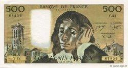 500 Francs PASCAL FRANCE  1975 F.71.13 SUP+