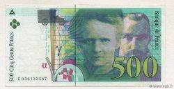 500 Francs PIERRE ET MARIE CURIE sans STRAP FRANCE  1996 F.76qua.03 SUP