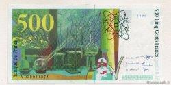 500 Francs PIERRE ET MARIE CURIE sans STRAP FRANCE  1998 F.76qua.04 SUP