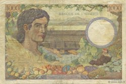 1000 Francs Algérie FRANCE  1942 VF.10.01 TTB