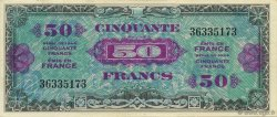 50 Francs DRAPEAU FRANCE  1944 VF.19.01 pr.NEUF