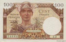 100 Francs TRÉSOR FRANÇAIS FRANCE  1947 VF.32.01 SPL+