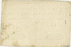 5 Livres FRANCE  1791 Ass.19a SUP