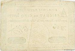 5 Livres FRANCE  1791 Ass.20a SUP