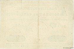 5 Livres FRANCE  1792 Ass.27a TTB+