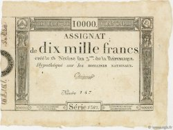 10000 Francs FRANCE  1795 Ass.52a TTB+
