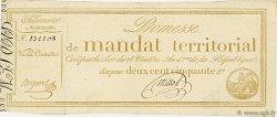 250 Francs Sans série FRANCE  1796 Ass.61a pr.SUP