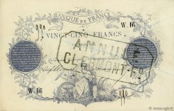 25 Francs type 1870 Clermont-Ferrand FRANCE  1870 F.A44.01 TTB+