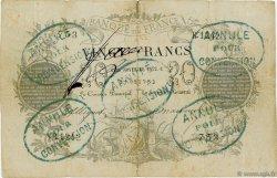 20 Francs type 1871 FRANCE  1872 F.A46.02 TB