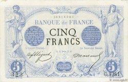 5 Francs NOIR FRANCE  1872 F.01.12 TTB