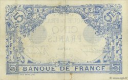 5 Francs BLEU FRANCE  1913 F.02.18 TTB