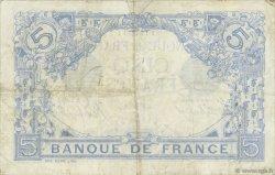 5 Francs BLEU FRANCE  1914 F.02.22 TB+