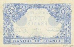 5 Francs BLEU FRANCE  1915 F.02.24 SUP