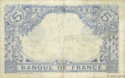 5 Francs BLEU FRANCE  1915 F.02.28 TTB