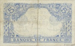 5 Francs BLEU FRANCE  1915 F.02.30 TB+