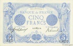 5 Francs BLEU FRANCE  1915 F.02.32 SUP