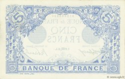 5 Francs BLEU FRANCE  1915 F.02.32 SUP+