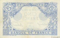 5 Francs BLEU FRANCE  1915 F.02.34 TTB+