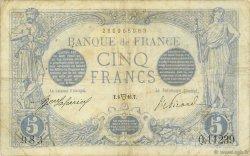 5 Francs BLEU FRANCE  1916 F.02.38 TB