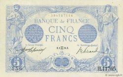 5 Francs BLEU FRANCE  1916 F.02.39 SUP