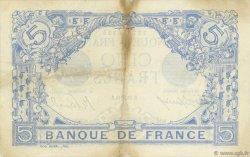5 Francs BLEU FRANCE  1916 F.02.40 TTB