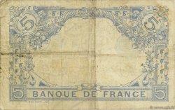 5 Francs BLEU FRANCE  1916 F.02.45 pr.TB