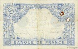 5 Francs BLEU FRANCE  1916 F.02.45 TB+