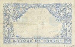 5 Francs BLEU FRANCE  1917 F.02.47 TTB