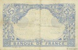 5 Francs BLEU lion inversé FRANCE  1916 F.02bis.04 TTB