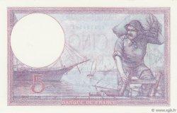 5 Francs VIOLET FRANCE  1926 F.03.10 pr.NEUF