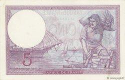 5 Francs VIOLET modifié FRANCE  1939 F.04.14 SPL