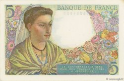 5 Francs BERGER FRANCE  1947 F.05.07a pr.SPL