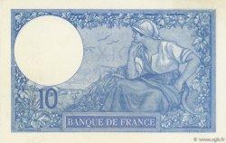 10 Francs MINERVE FRANCE  1916 F.06.01 SUP+ à SPL