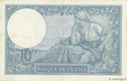 10 Francs MINERVE FRANCE  1936 F.06.17 TTB
