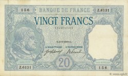 20 Francs BAYARD FRANCE  1919 F.11.04 TB à TTB