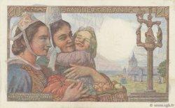 20 Francs PÊCHEUR FRANCE  1942 F.13.01 TTB+