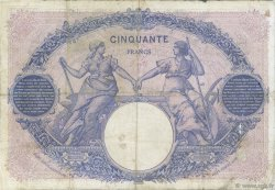 50 Francs BLEU ET ROSE FRANCE  1902 F.14.14 B+