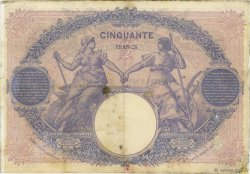 50 Francs BLEU ET ROSE FRANCE  1903 F.14.15 pr.TB
