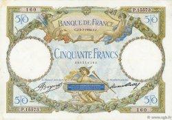 50 Francs LUC OLIVIER MERSON type modifié FRANCE  1934 F.16.05 TTB+